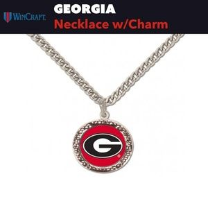 "Georgia Dawgs ""G"" Necklace 🐾"